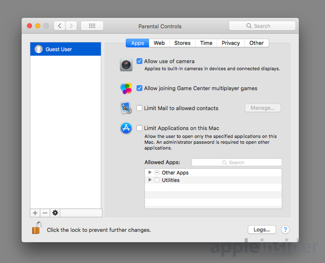 How to keep your Mac data secure from visitors by using
