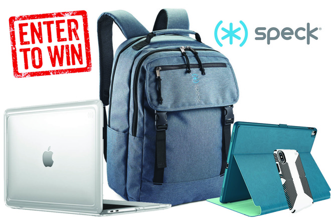 Giveaway: Enter to win 1 of 4 Speck bundles filled with