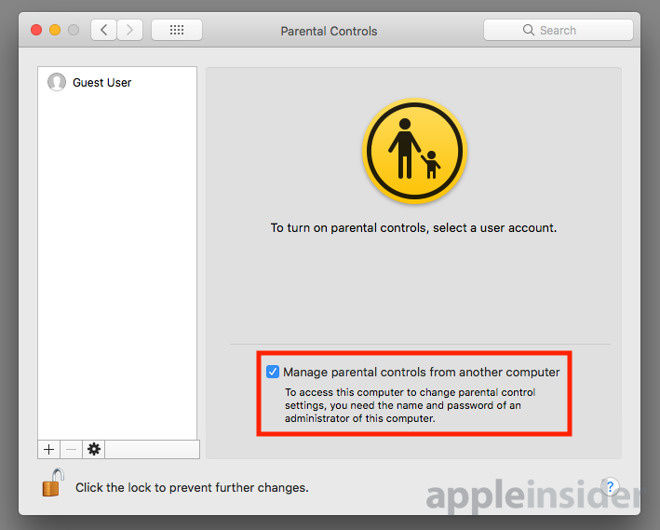 How to use Parental Controls in macOS to limit access to