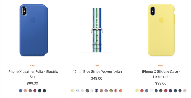 outlet store 20a5d a636f Apple debuts iPhone and iPad cases in seasonal colors
