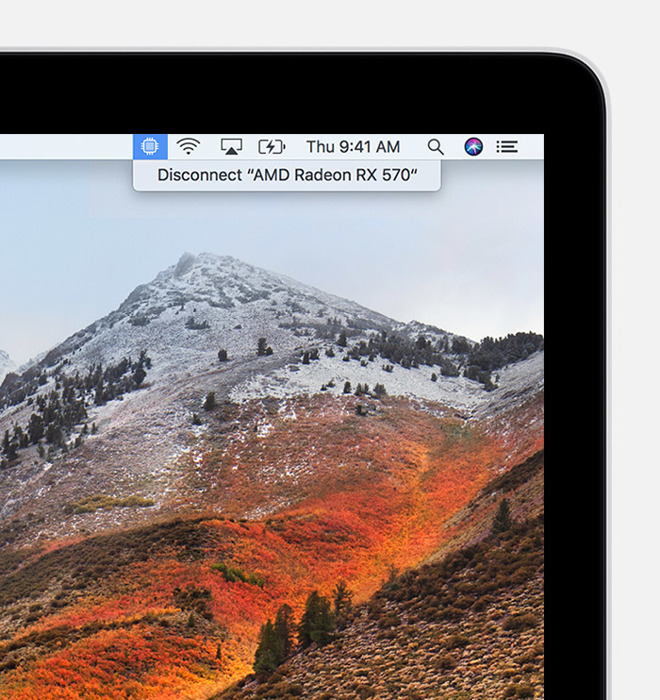 Apple details eGPU support in macOS 10 13 4 High Sierra