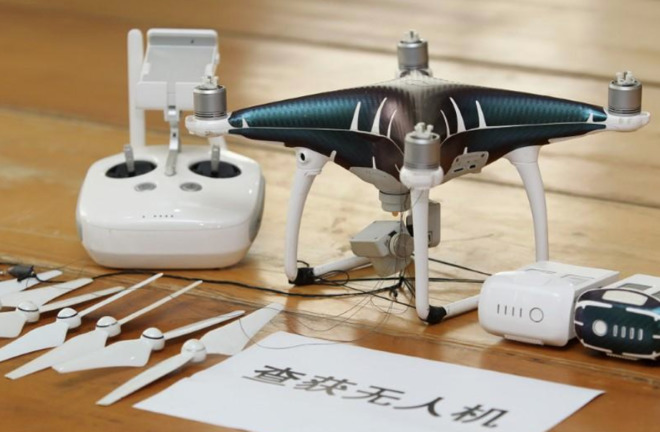 Chinese customs officials bust $80M drone-based iPhone