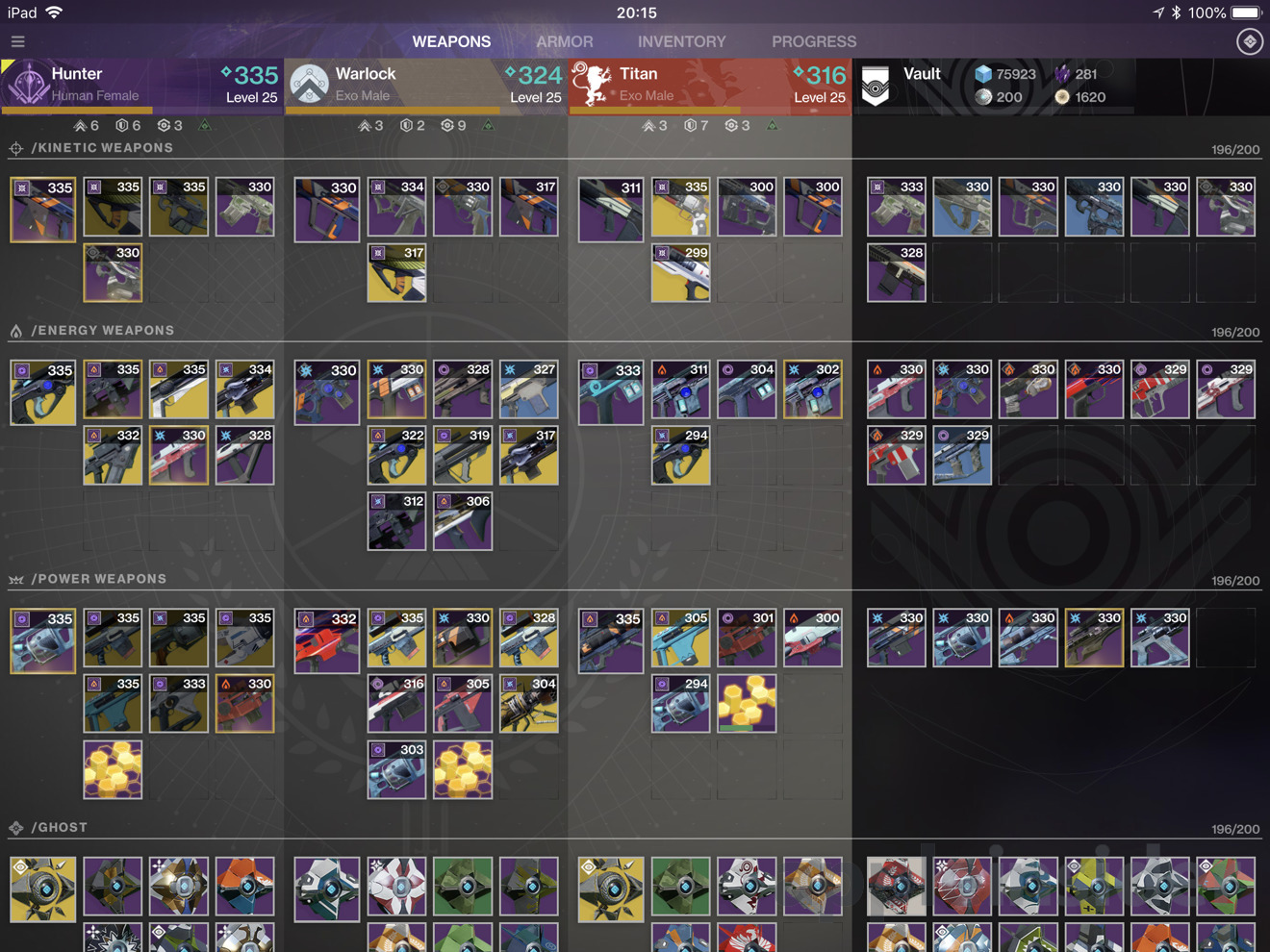 Hands On: Manage your gear in 'Destiny 2' with Ishtar Commander for iPad