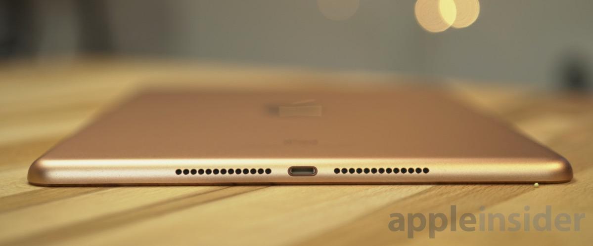 Apple sixth generation iPad in Gold