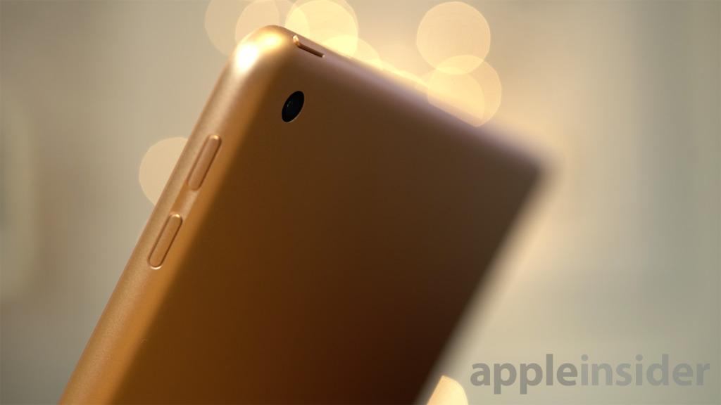 Apple 2018 iPad camera