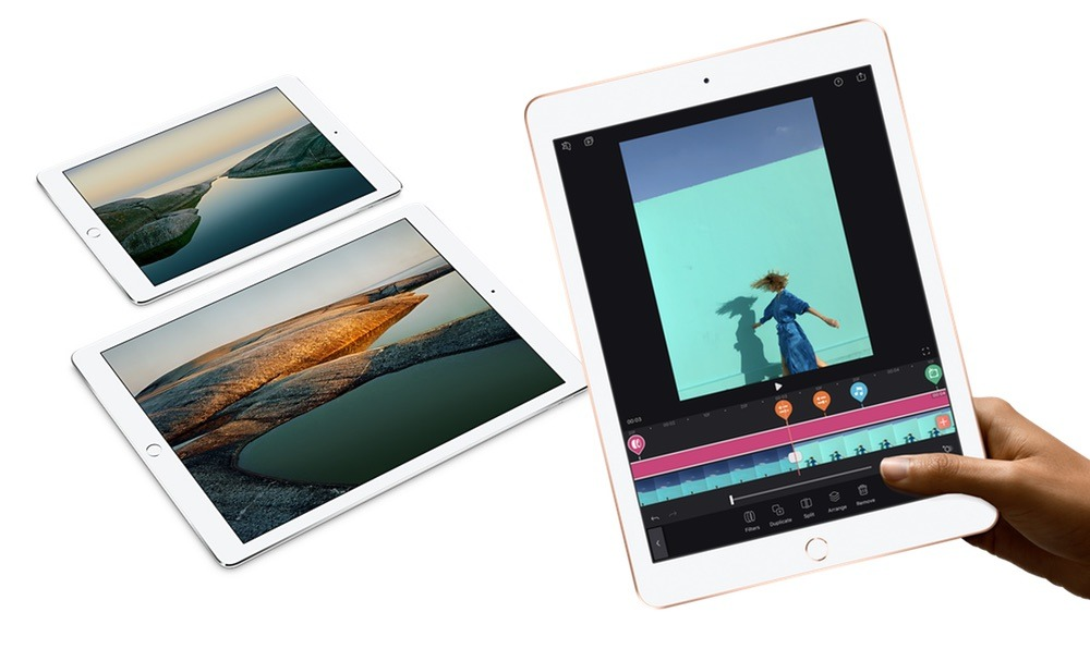 Compared: 2018 iPad versus the original 12.9-inch and 9.7-inch iPad Pro