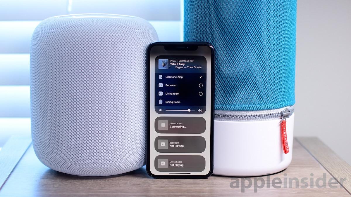 Libratone Zipp and Apple HomePod
