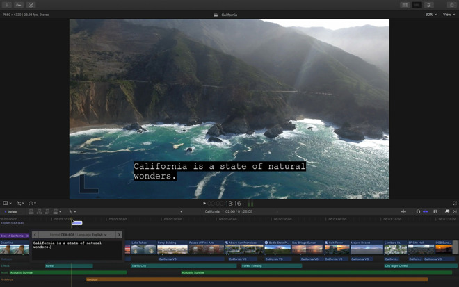 Final Cut Pro X update brings ProRes RAW format, improved