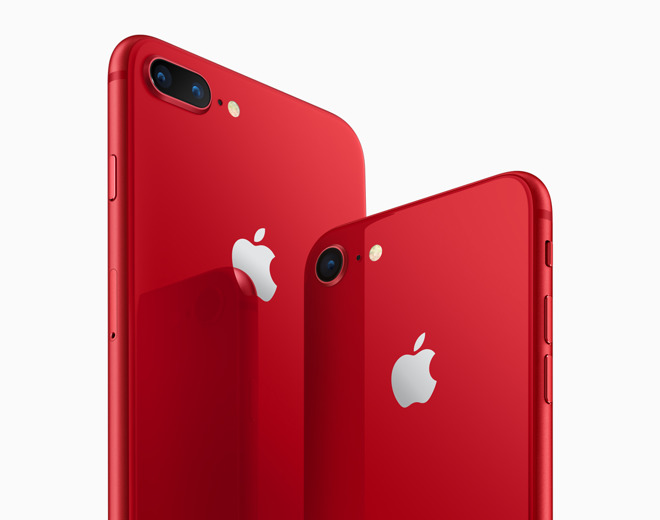 Iphone 8 And Iphone 8 Plus Product Red Special Edition Ships On