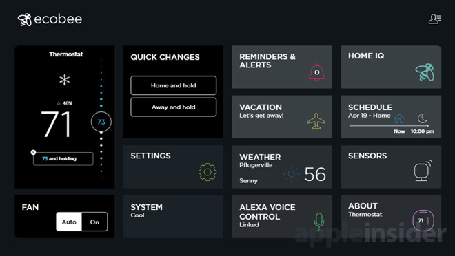 Review: Ecobee4 Thermostat a strong choice for Apple HomeKit