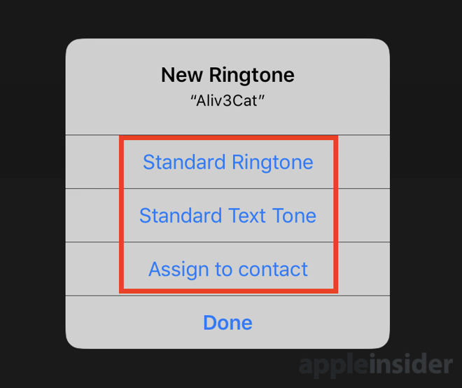 ringtone iphone standard