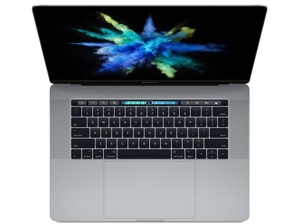 Apple 15 inch MacBook Pro with Touch Bar in Space Gray