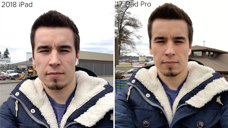 Apple iPad versus iPad Pro camera comparison