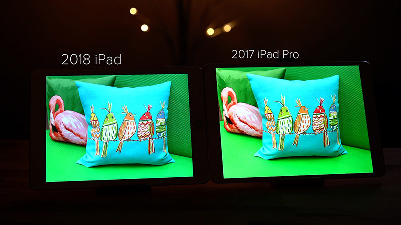 Apple iPad and iPad Pro camera compare