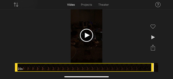 iMovie for iOS update delivers iPhone X, Metal graphics support
