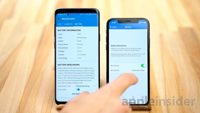 Iphone X Contra Samsung S9