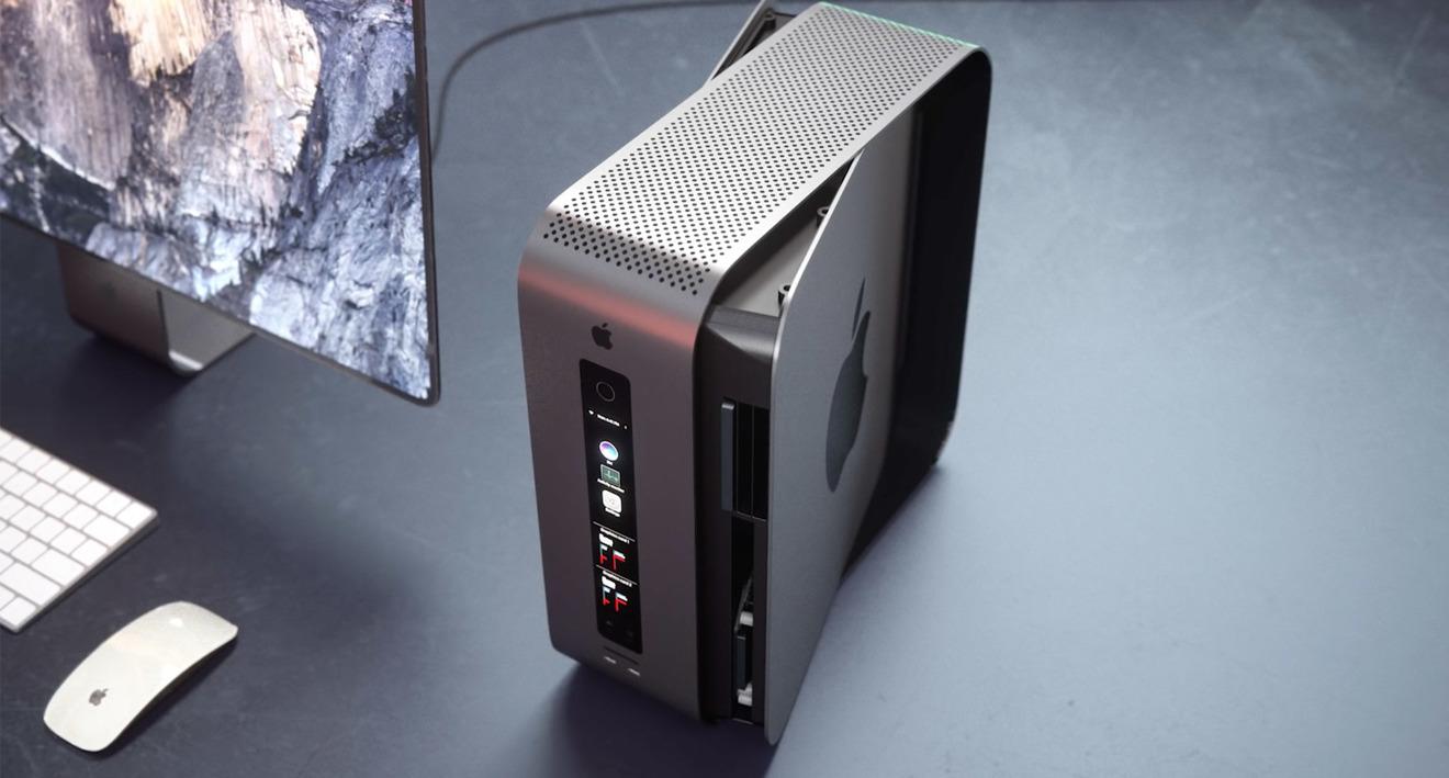 Modular Mac Pro Concept