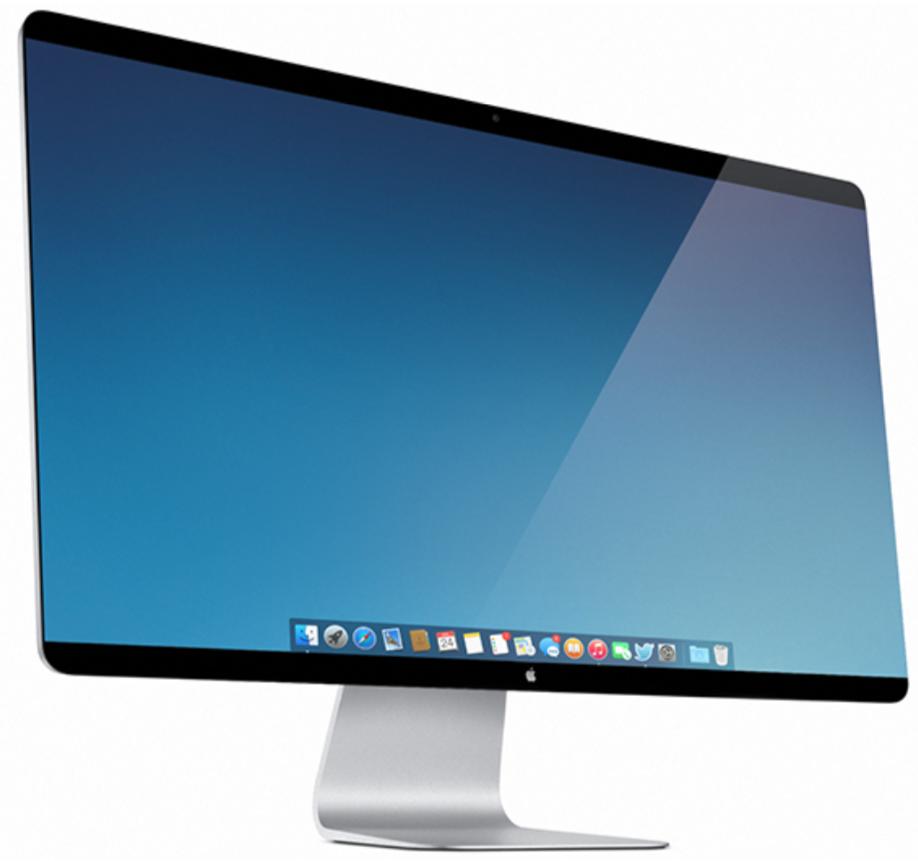Apple Display Concept rendering
