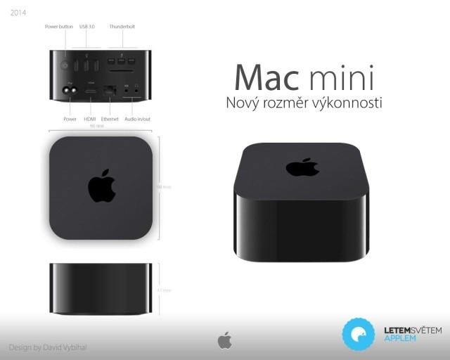 mac mini Apple TV concept