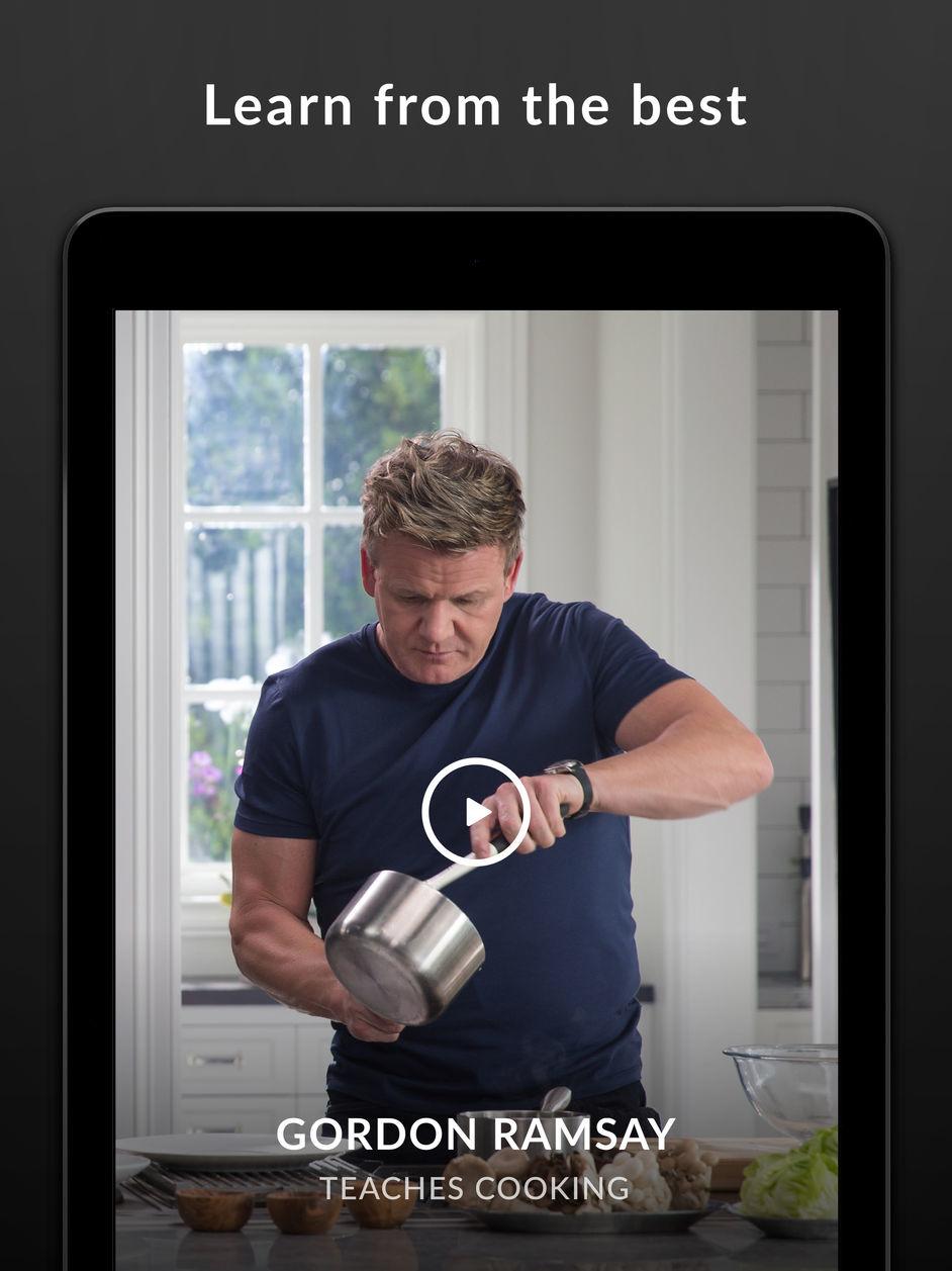 MasterClass on the app store