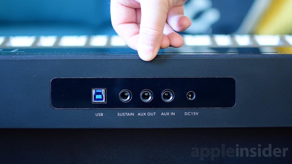 ONE Smart Keybaord rear ports