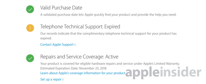 How to check if your Mac or iOS device is still covered