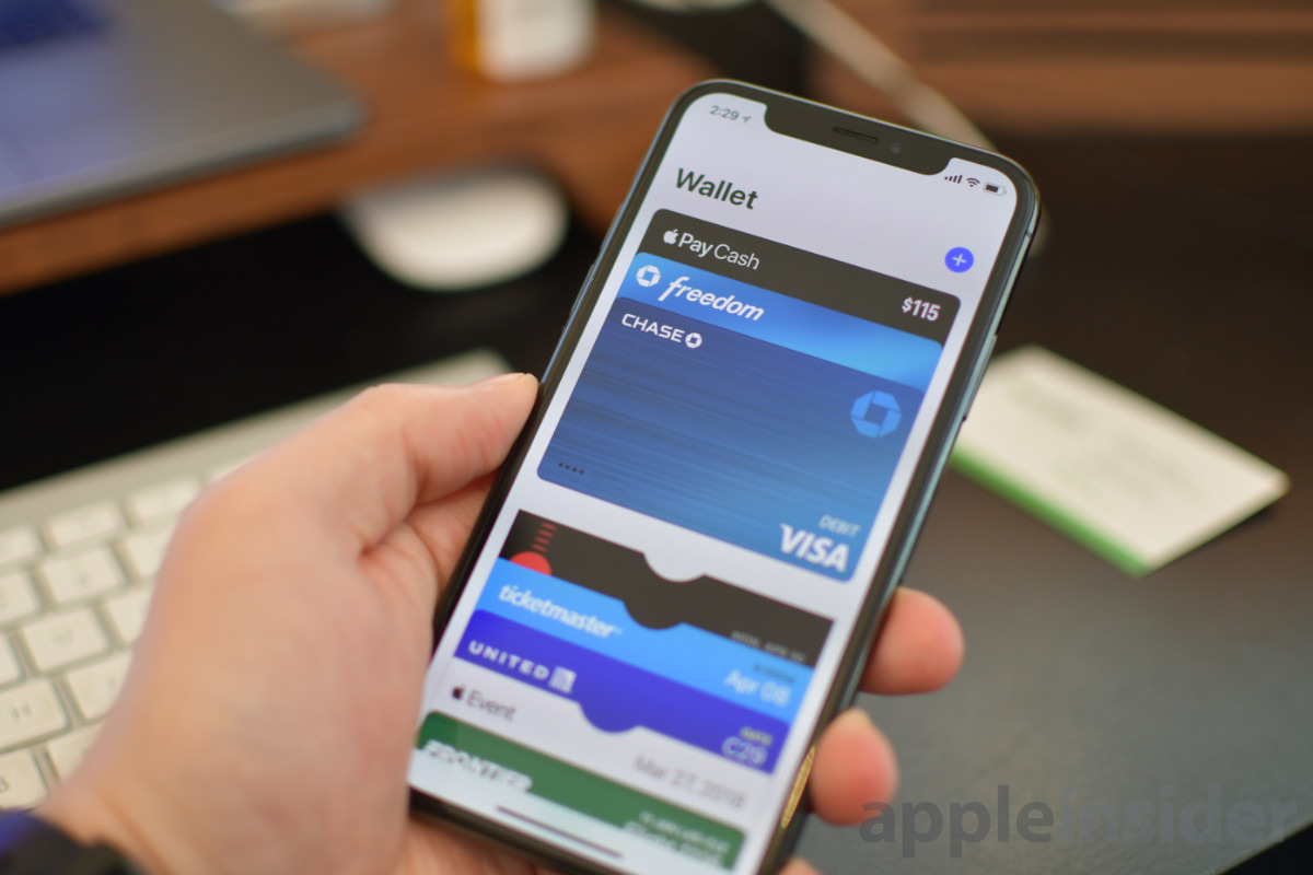 Apple Pay credit cards in Wallet app