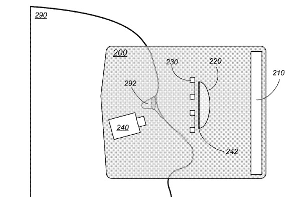 apple patent application eye tracking headset