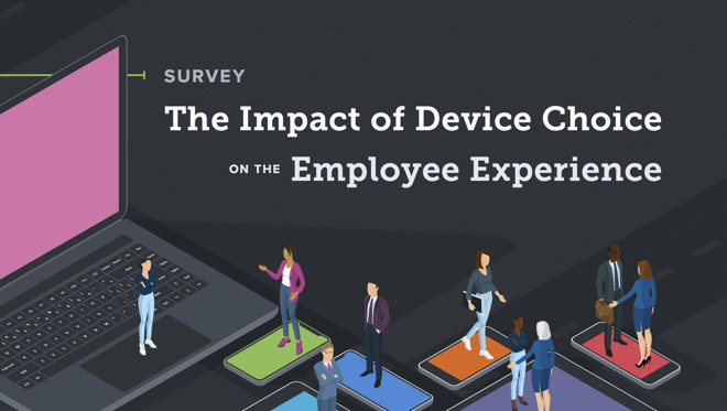 Mac iphone highly preferred over windows or android by employees jamfs new employee survey finds employees want macs and iphones ccuart Images