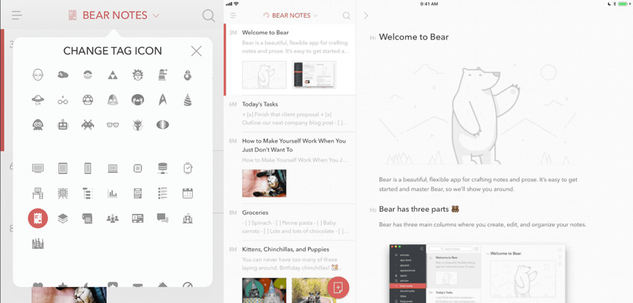 Bear iOS