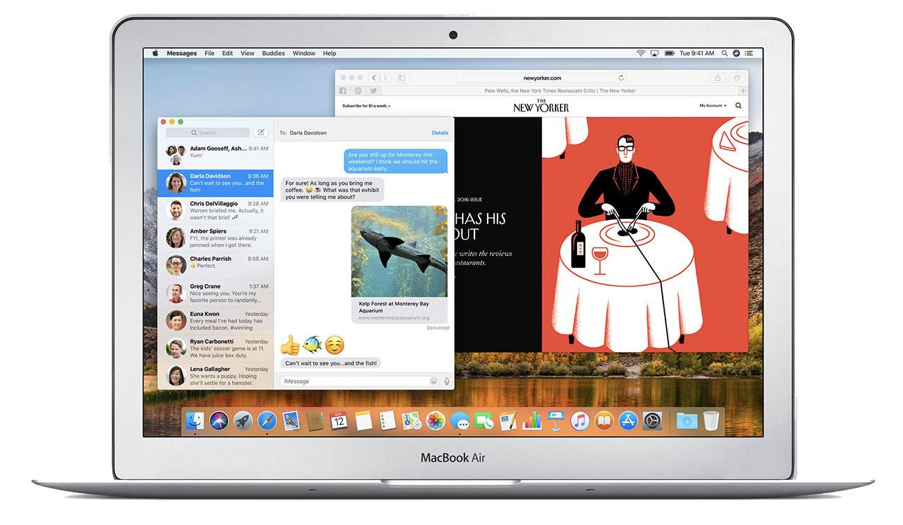 Apple Mid 2017 13 inch MacBook Air laptop computer