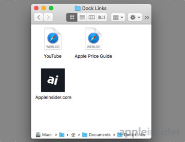 How to add bookmarks for your favorite websites to the macOS Dock