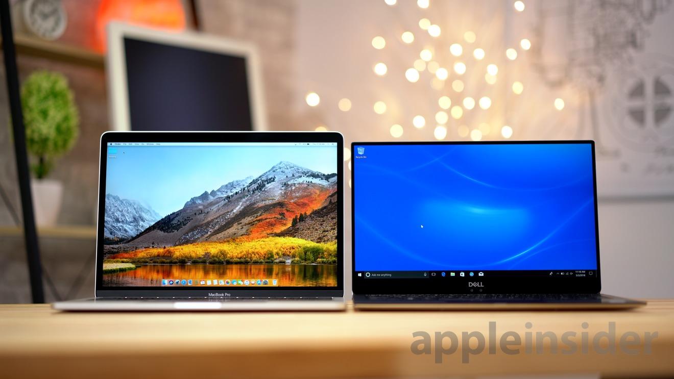 Dell XPS 13 9370 vs  Apple's 13-inch MacBook Pro, the