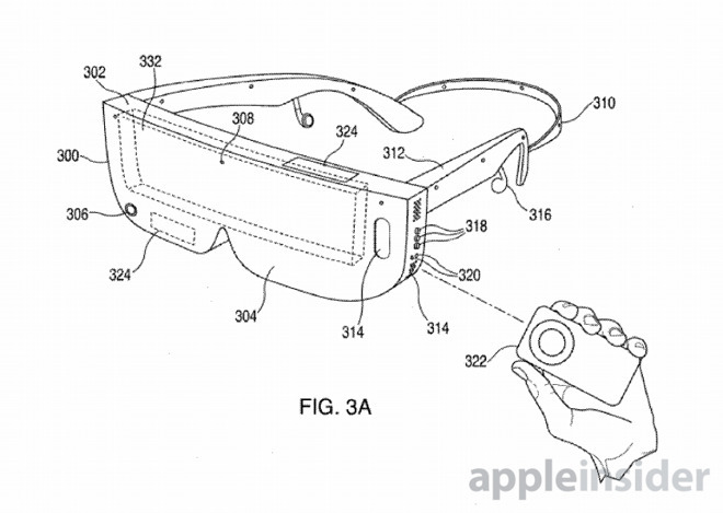 Apple AR glasses patent image