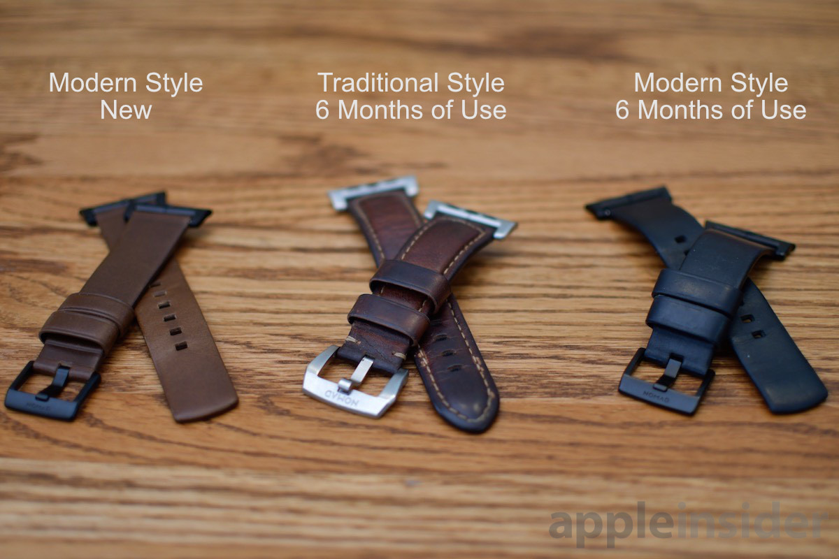 Nomad Apple Watch Band comparison