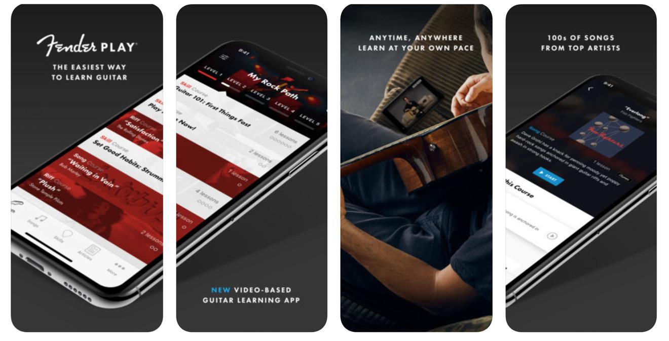Fender Play Guitar app on the app store