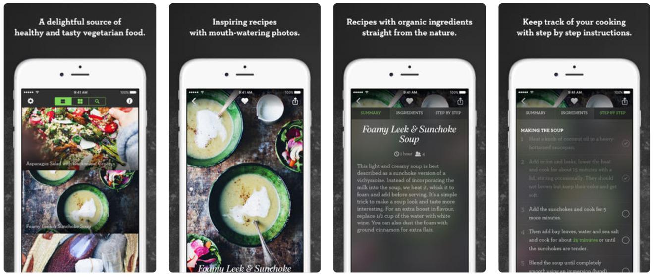 Green Kitchen on iOS
