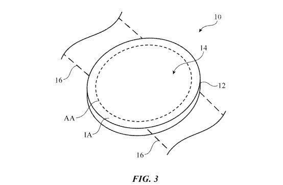 apple round screen patent