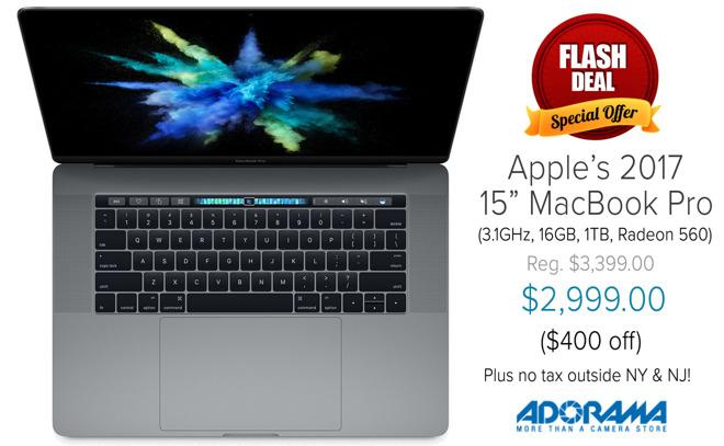 Black Friday MacBook Pro deals