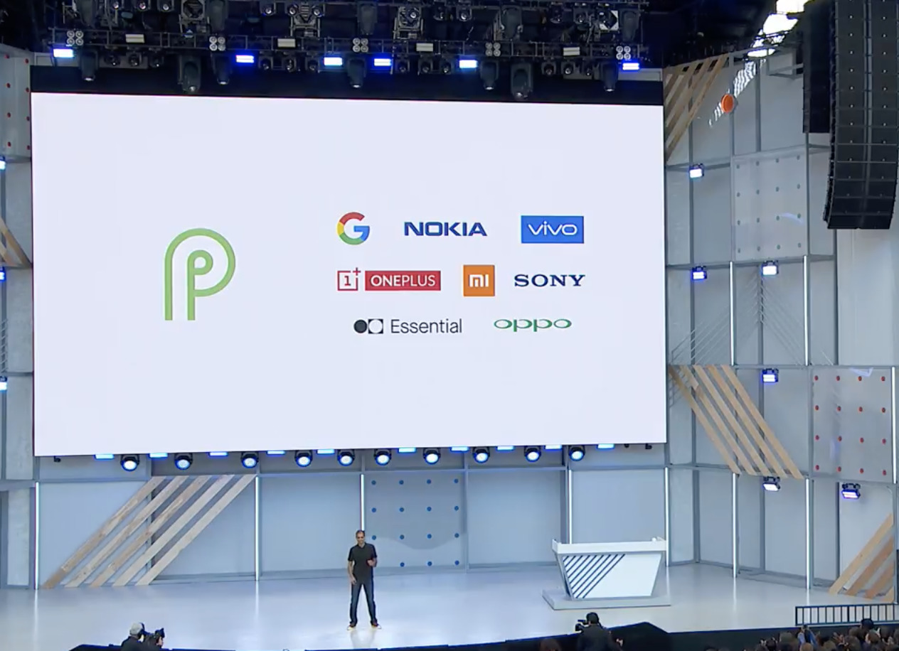 Android P devices