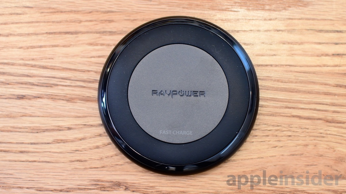 RAVPower iPhone wireless charger