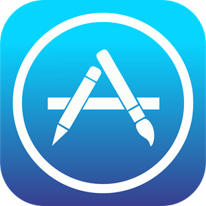 the current App Store logo