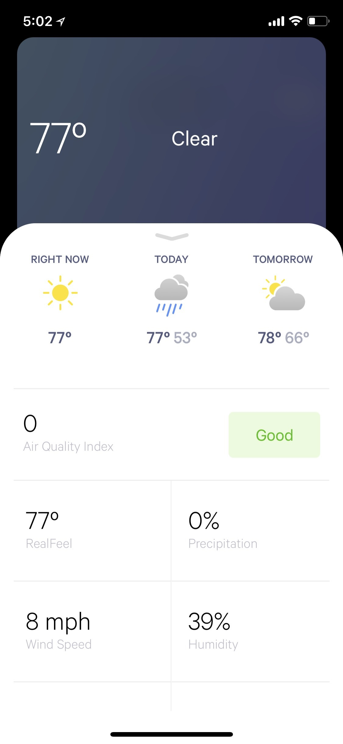 WeatherKit Forecast Metrics