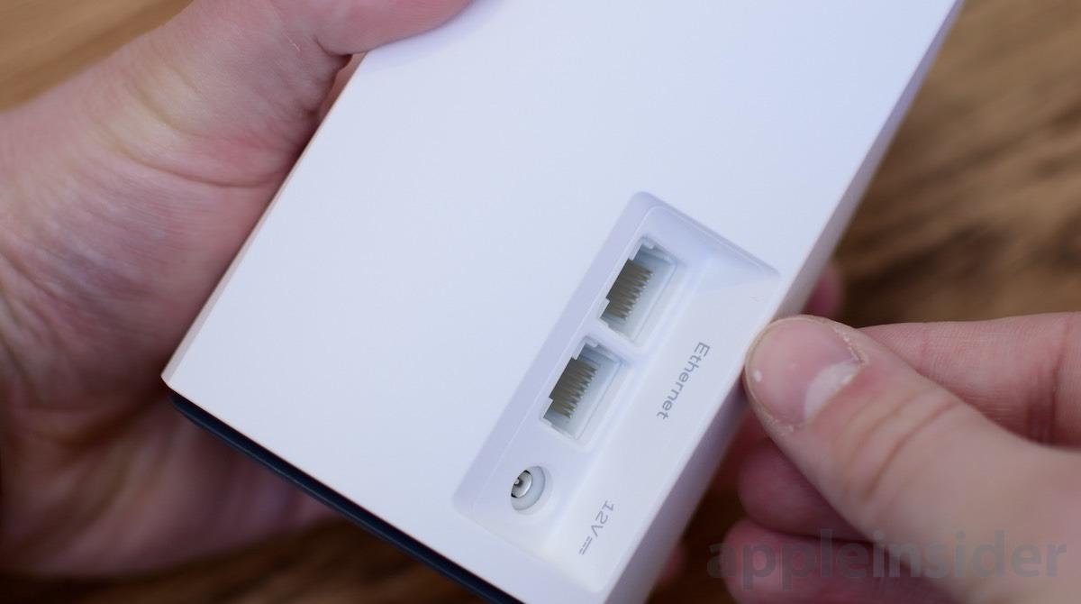 Velop Ethernet ports