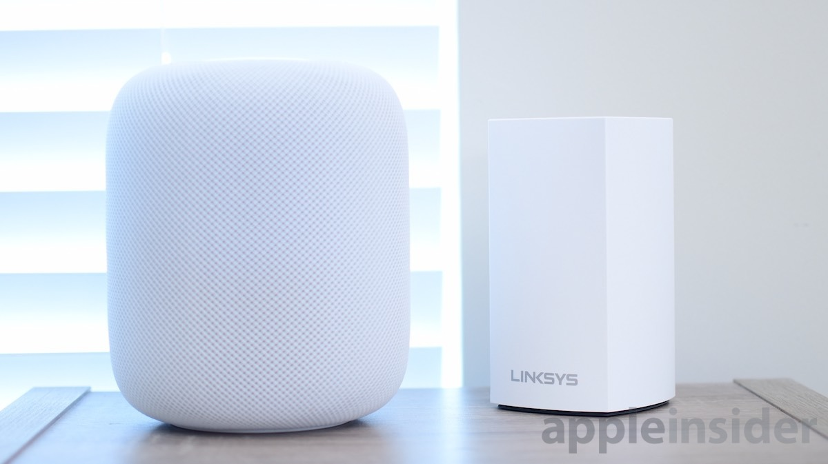 Velop AC3900 Router and HomePod