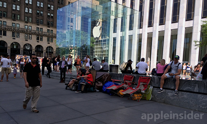 Apple's Cube store in New York