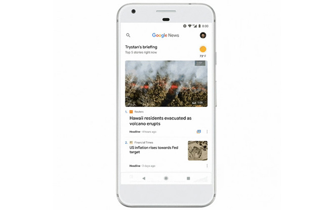 AI-powered Google News debuts in iOS App Store, replaces