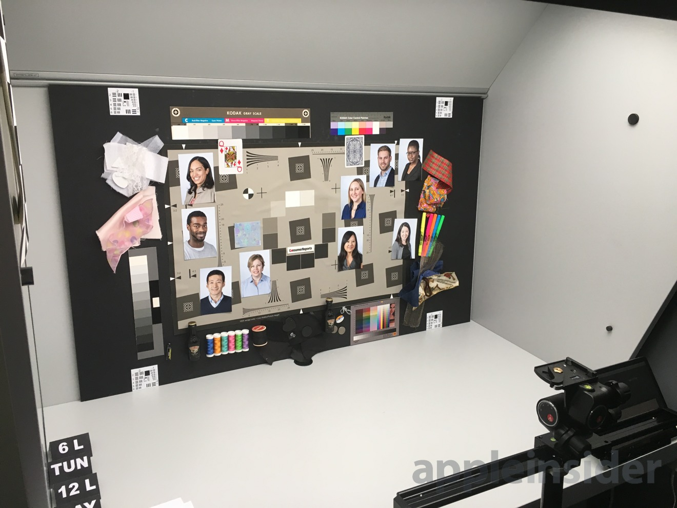 Consumer Reports' photography testing lab