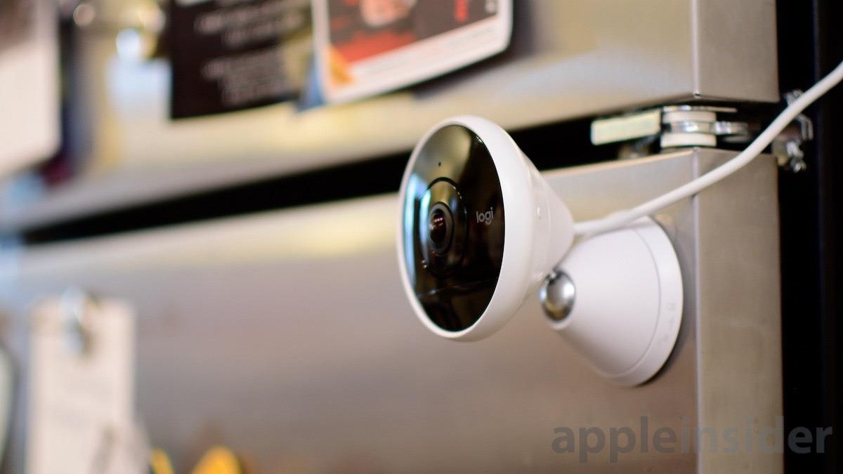 Logitech Circle 2 HomeKit Camera Magnetic mount