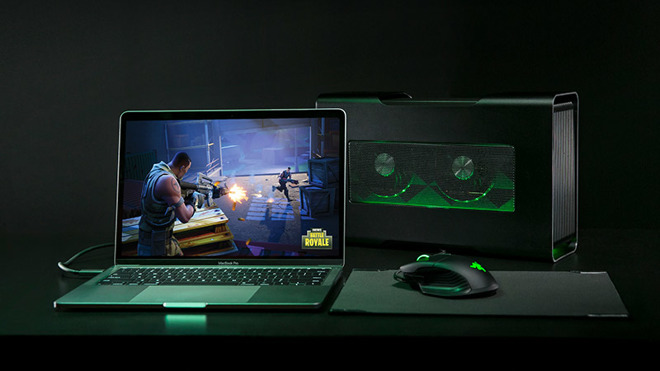 Razer launches Mac compatible Core X eGPU for $299